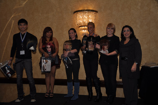 ISSE 2012 Hair Competitions