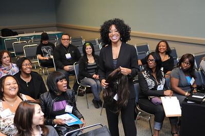 Hair education class by Toni Love