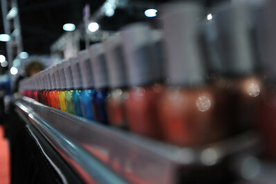 Nail polish in every color you can think of