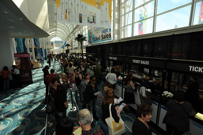 Ticket sales on a record setting first day at ISSE Long Beach