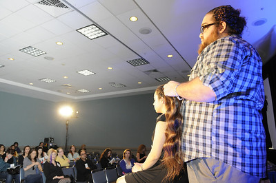 ISSE Long Beach 2012 Stage Presentation - Creative Styling with Steve Elias and The Teal's