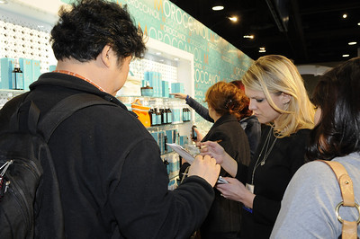 Beauty professionals stocking up on MoroccanOil products!