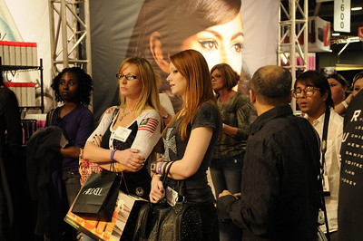 Beauty Professionals watching a demonstration