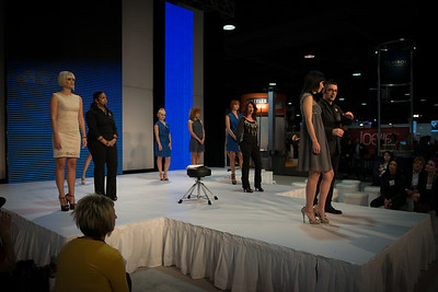 The Clairol Professional team on the Center Stage at ISSE Long Beach 2013.