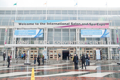 Entrance to ISSE Long Beach 2013.