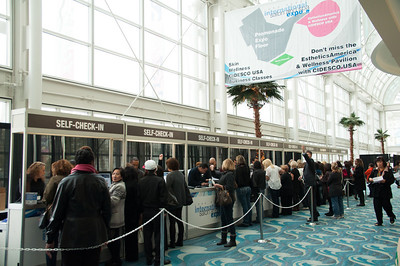 Lines for everyone went very quick due to expedited processes at ISSE Long Beach 2013.