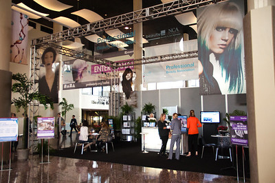 The PBA booth at ISSE Long Beach 2013.