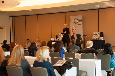 Tabatha Coffey at ISSE Long Beach 2013 educating on her new product line.