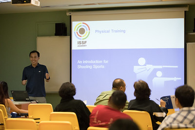 International Sport Shooting Federation (ISSF) coaching D course held in Singapore.