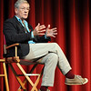 Sir Ian McKellen speaks to students at the Florida State School of Theater on October 27, 2009.