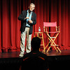 Sir Ian McKellen listens to a question from a student at the Florida State School of Theater on October 27, 2009.