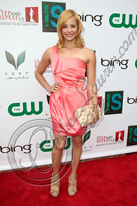 BELAIR, CA - APRIL 21:  Television personality Amy Paffrath arrives at The Influence Affair hosted by Ian Somerhalder on April 21, 2012 in Belair, California.  (Photo by Chelsea Lauren/Getty Images)