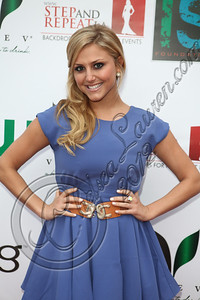 BELAIR, CA - APRIL 21:  Actress Cassie Scerbo arrives at The Influence Affair hosted by Ian Somerhalder on April 21, 2012 in Belair, California.  (Photo by Chelsea Lauren/Getty Images)