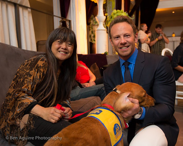 Ian Ziering at the Hollywood Athletic Club - A David Tutera Event!