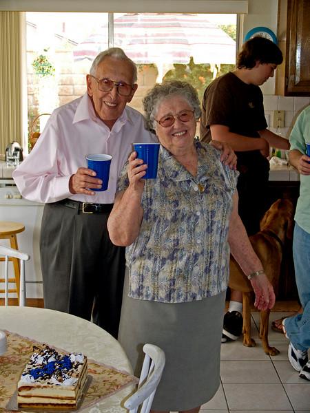 Ibi-nini's and Emily's birthday, Oct 2007
