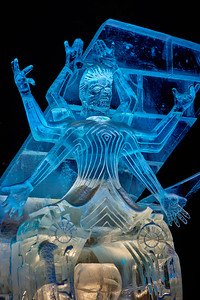 Ice carving by Mathew Foster,  Mathew Chaloner, Paul Crawford, Attila Olah