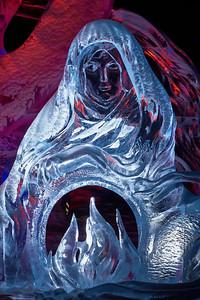 Ice carving by Ivan Loktyukhin, Vadim Polin, Eduard Ponomarenko, Sergei Zaplatin