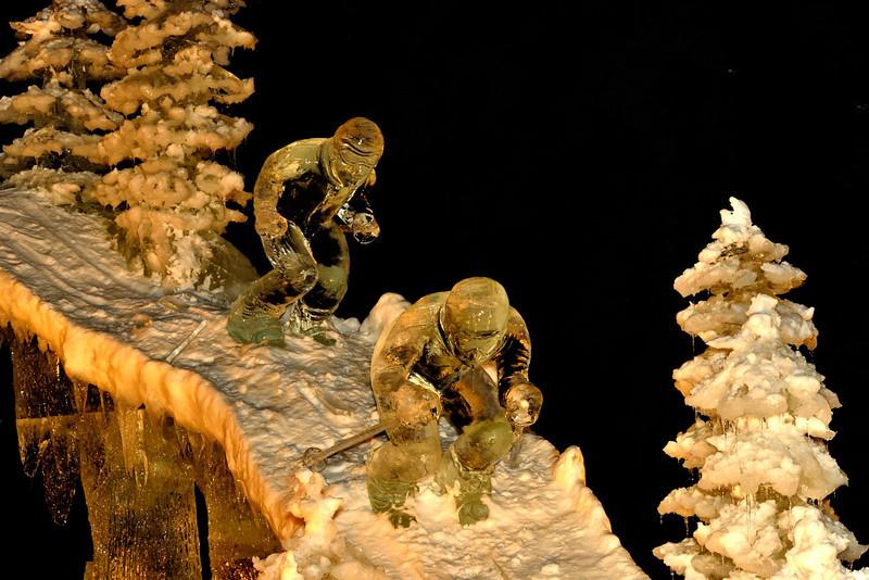 Fairbanks Ice Art exhibition