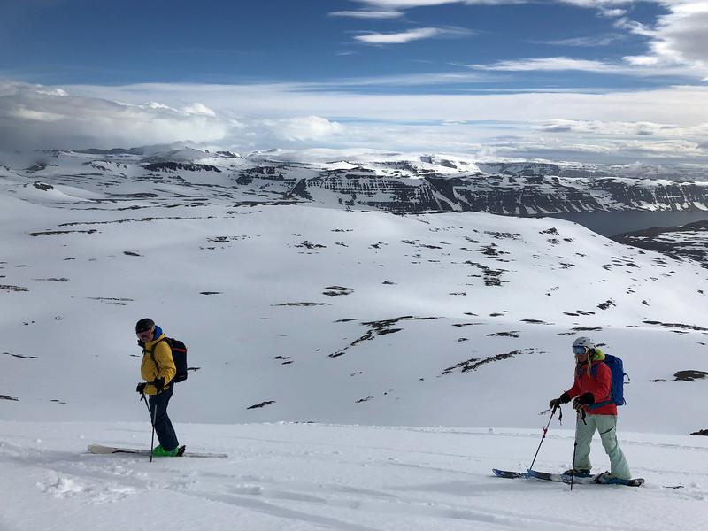 Getting ready to ski!