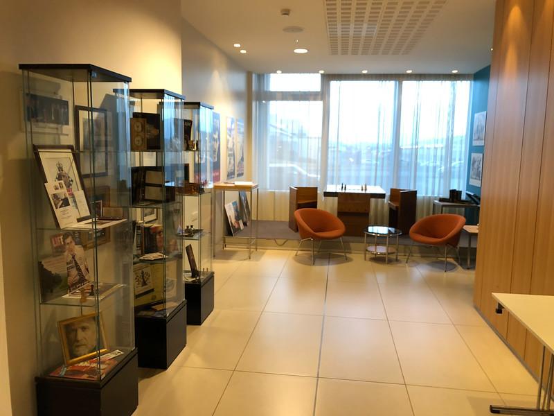 The Fischer exhibit.
