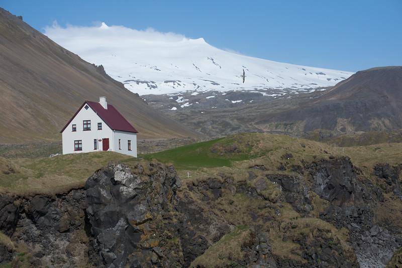 Arnarstapi Cliffhouse - May 2017