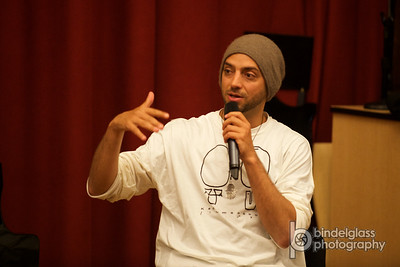 Idan Raichel at Manhattanville College with Stand with US