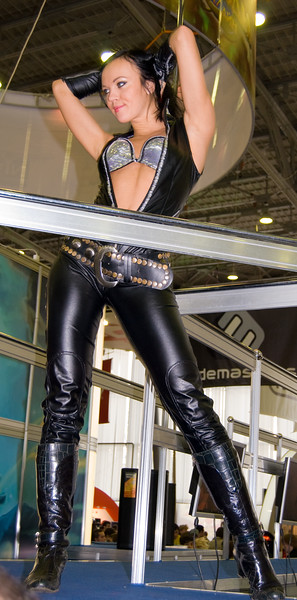 Nival girl on Igromir 2008