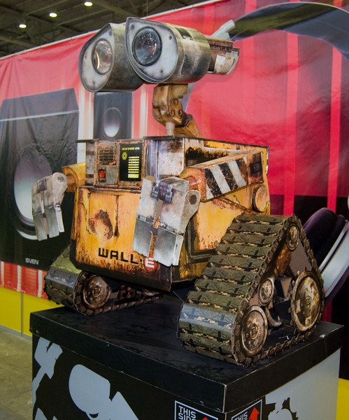 Wall-E on Igromir 2008