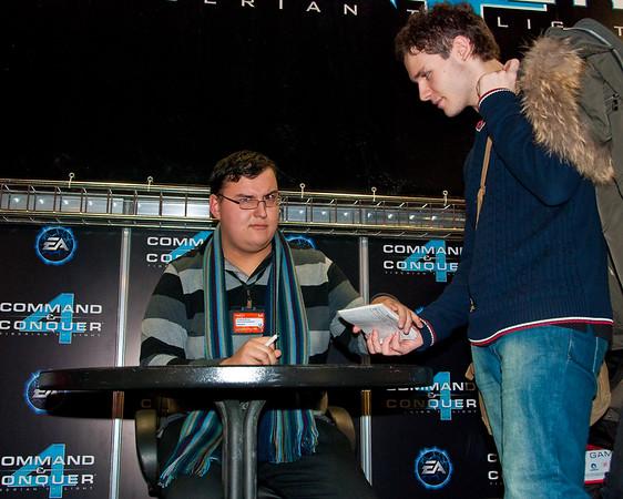 Anton Logvinov from Videomania at Igromir 2009