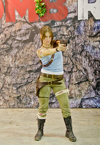 Lara Croft at Igromir 2011