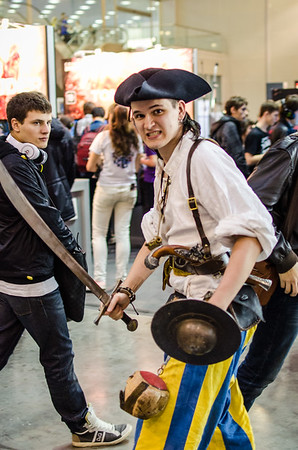 Pirate at Igromir 2012