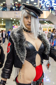 Cosplay girl at Igromir 2012