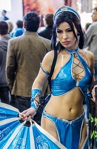 MK cosplay girl at Igromir 2012