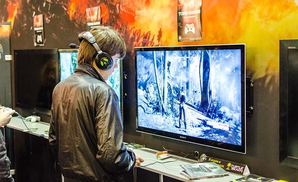 Gamer at Igromir 2012