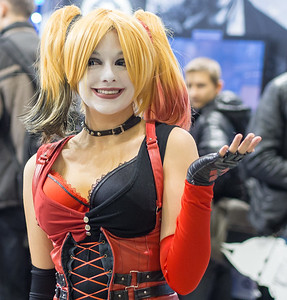 Harley cosplay at Igromir 2013