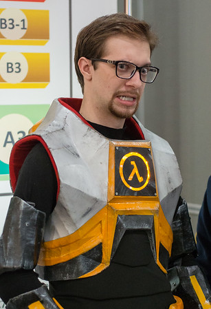 Gordon Freeman at Igromir 2013
