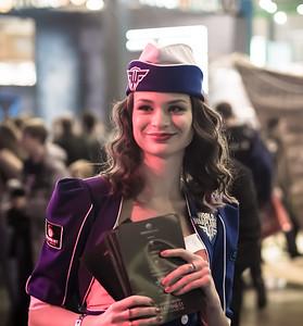 World of Warplanes girl at Igromir 2013
