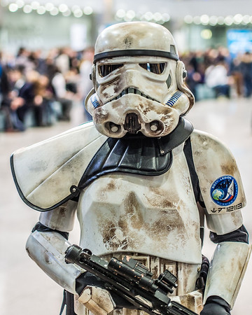 Stormtrooper at Igromir 2013