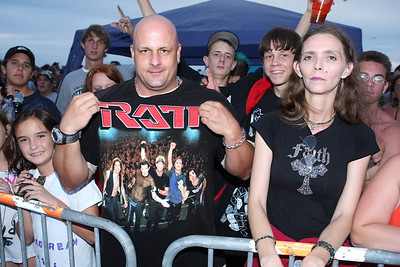 Criss Angel Fans and of course RATT