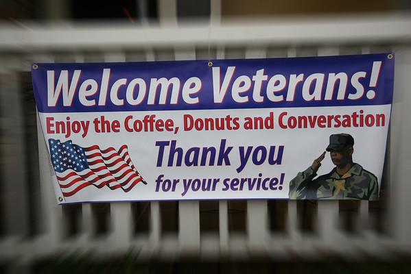Inaugural Monthly Veteran's Coffee, Winston Salem, NC