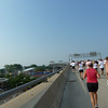 Making our way up the Hoan Bridge, Summerfest grounds on the left<br /> July 10, 2011