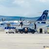 Prima aeronava Bombardier Q400 a companiei aeriene poloneze LOT Polish Airlines a aterizat/decolat din Cluj-Napoca catre Varsovia