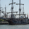 Spanish Sailing Ship at South St, Seaport