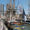 L'Hermonie (replica of ship that brought Lafayette to the US)