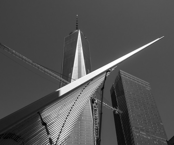 1-WTC and Calatrava Transportation Center