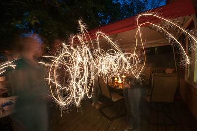 Messin' with Sparklers