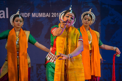 Angik Dance academy Radha - Choreography by Dr. Sarmishtha Chattopadhyay. Various emotions of Radha through songs of Vidyapati's Vaibhav Padavali, Tagore's songs, and Kirtan & Baul songs.  INTERNATIONAL INDIA DANCE FESTIVAL (IIDF MUMBAI 2018) 3rd March 2018. Organized by Aratrika Institute of Performing Arts and Samskritiki for its first season in Mumbai.