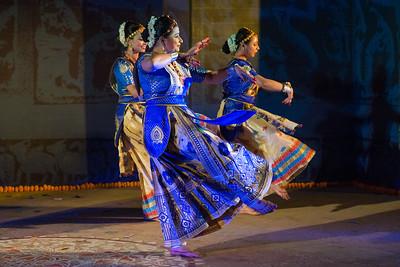 Dr Devika Borthakur & group, Sattriya.  INTERNATIONAL INDIA DANCE FESTIVAL (IIDF MUMBAI 2018) 3rd March 2018. Organized by Aratrika Institute of Performing Arts and Samskritiki for its first season in Mumbai.