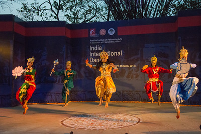 Kirti Ballet (Chhau group) & Performing arts from Bhopal.  INTERNATIONAL INDIA DANCE FESTIVAL (IIDF MUMBAI 2018) 4th March 2018. Organized by Aratrika Institute of Performing Arts and Samskritiki for its first season in Mumbai.