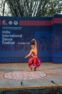 Rohit Gopinath (Mohiniattam & Bharatnatyam) Solo. Part of Team Navarasa under the guidance of Guru Smt. Sushama Gopinath. INTERNATIONAL INDIA DANCE FESTIVAL (IIDF MUMBAI 2018) 4th March 2018. Organized by Aratrika Institute of Performing Arts and Samskritiki for its first season in Mumbai.